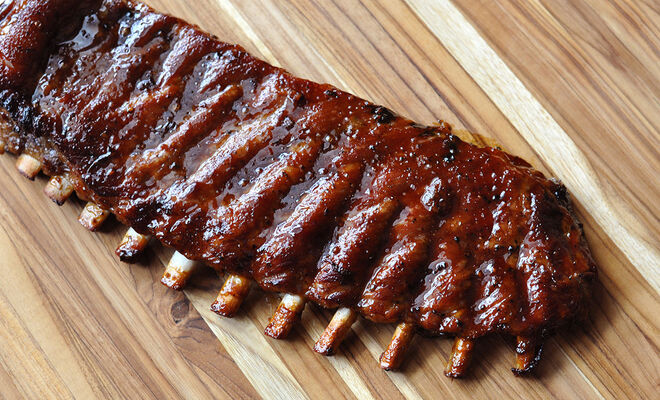 Bourbon Brown Sugar Berkshire Pork Baby Back Ribs | D'Artagnan