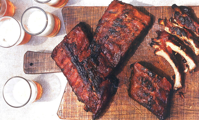 Susan Spungen Baby Back Ribs with Coffee Barbecue Sauce Recipe | D'Artagnan