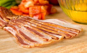 Hickory Smoked Bacon Thin Sliced Uncured Shop D Artagnan