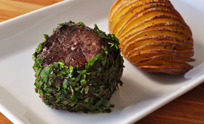 Herb & Mustard Crusted Filet Mignon Recipe | D'Artagnan
