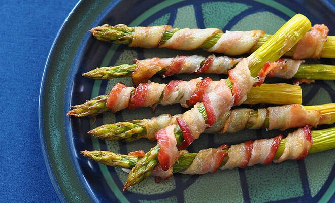 Bacon Wrapped Asparagus Recipe | D'Artagnan