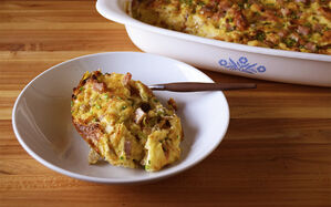 croissant-bread-pudding-breakfast-casserole-recipe