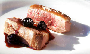 duck-breast-with-spiced-cherries-recipe