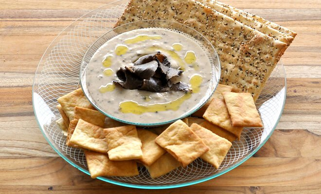 White Bean Dip with Truffles Recipe | D'Artagnan