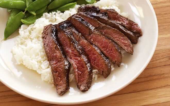 Japanese Style Ponzu Marinated Skirt Steak Recipe | D'Artagnan