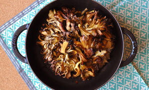 roasted-maitake-mushrooms-with-miso-butter-recipe