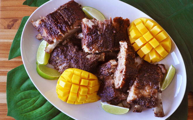 Slow-Roasted Jamaican Jerk Baby Back Ribs Recipe | D'Artagnan