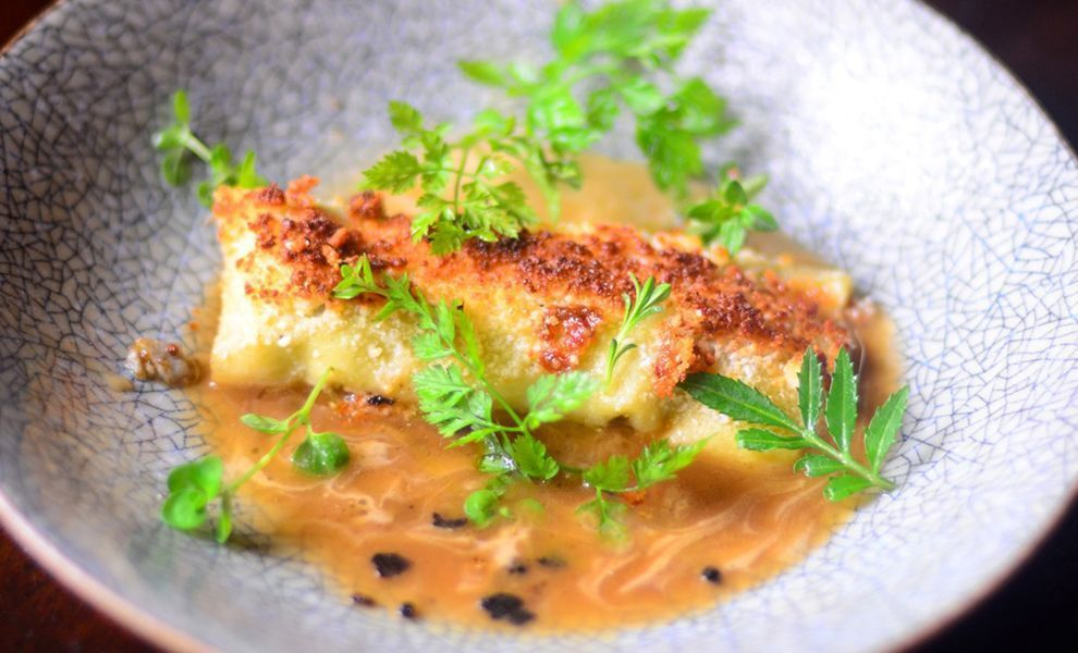 artichoke-foie-gras-and-truffle-stuffed-pasta-recipe