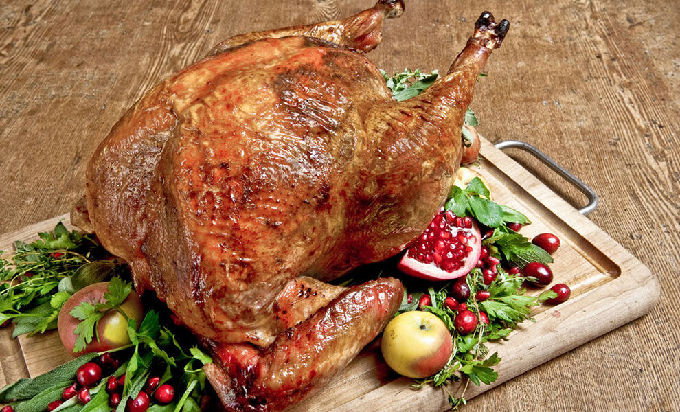 Cook turkey at 500 degrees for one hour