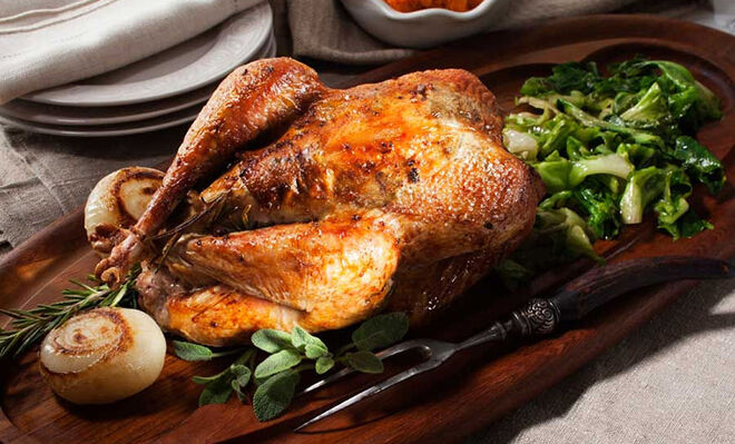 Whole, Herb Roasted Pheasant Recipe | D'Artagnan