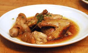 squab-with-porcini-mushroom-and-foie-gras-recipe