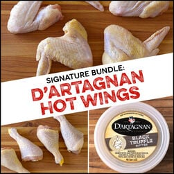 Signature Bundle:  Hot Wings - D'Artagnan Style