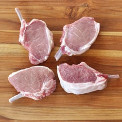 Berkshire Pork Rib Chops, Frenched