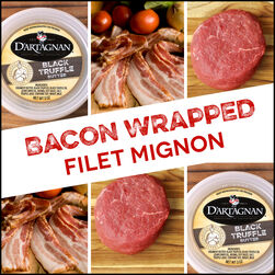 Inspiration Bundle:  Bacon Wrapped Filet Mignon