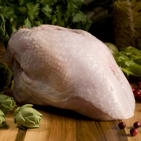 Natural Turkey Breast, Bone-In