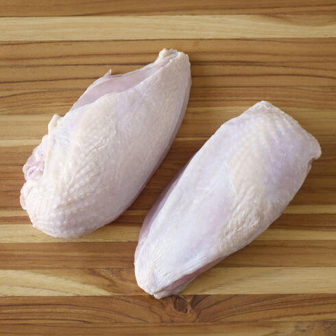Organic Split Chicken Breasts (Air-Chilled)