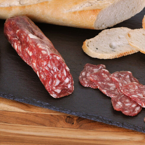 Artisanal Dry-Cured Saucisson Sec, Pork