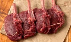 Venison Rib Chops, Frenched