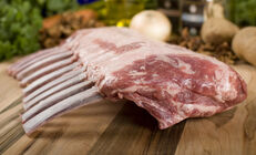 Wild Boar Rib Rack, Frenched