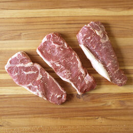 Angus Beef Bistro Strip Steak, Boneless