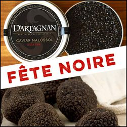 Exclusive Bundle:  French Caviar & Black Winter Truffle