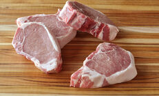 Berkshire Pork Loin Chops (NY Strip), Bone-In
