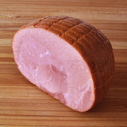 Berkshire Pork Boneless Smoked Ham, Half