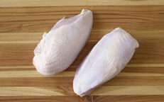 Organic Chicken Breasts, Split