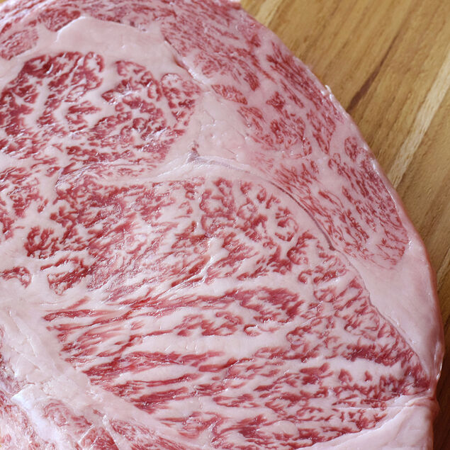 Japanese Wagyu Beef Boneless Ribeye Steak, A5 Grade