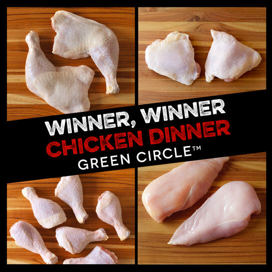 Winner, Winner Chicken Dinner:  Green Circle