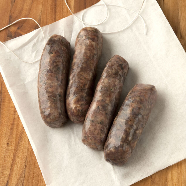 Venison, Pork, and Cherry Sausage
