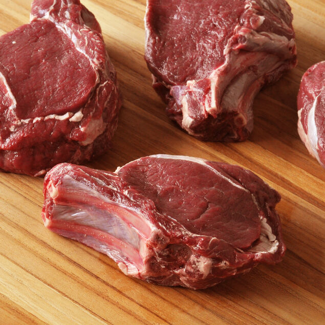Venison Double-Cut Rib Chops