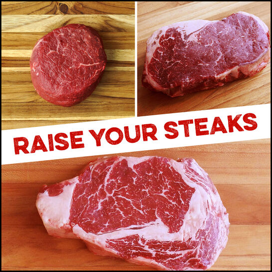 Signature Bundle:  Raise Your Steaks