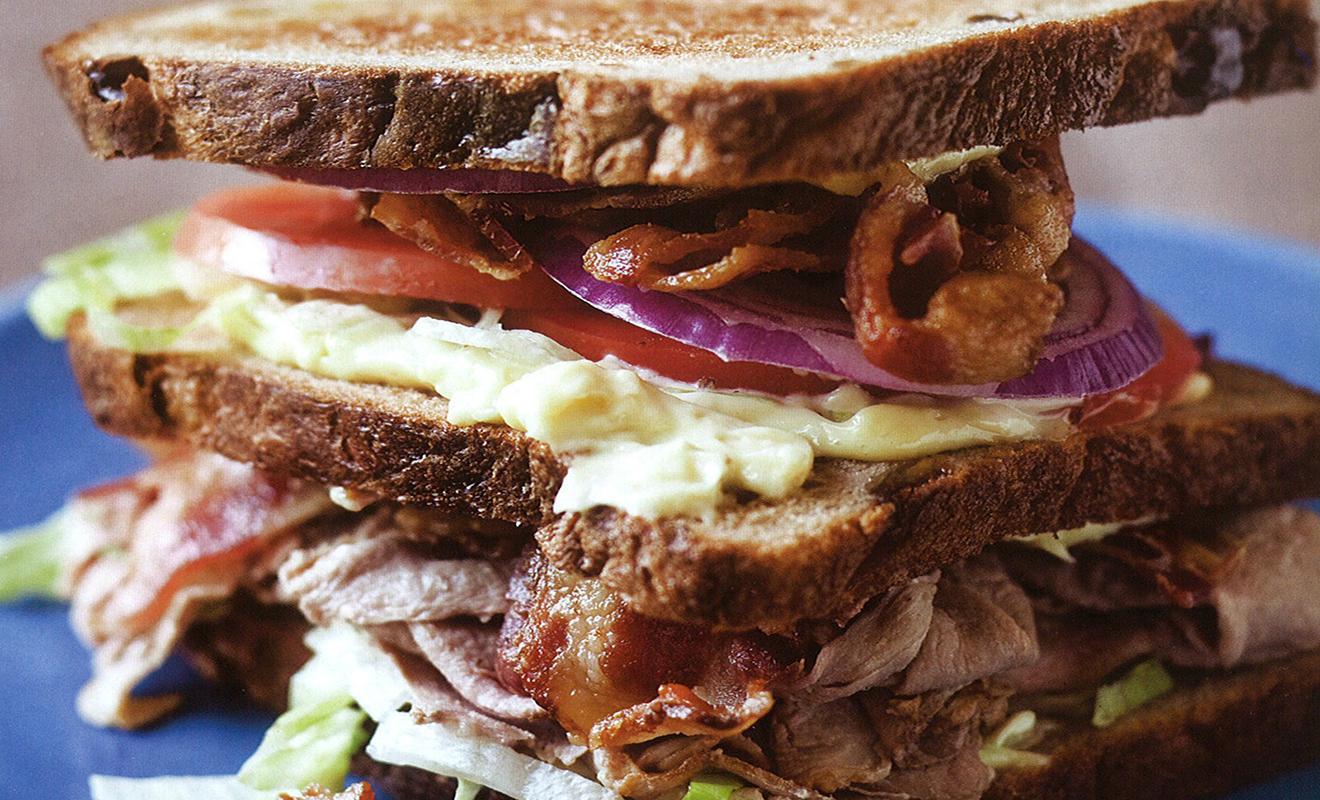 Blue Ribbon Cookbook Duck Club Sandwich Recipe | D'Artagnan