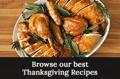 Browse Holiday Recipes