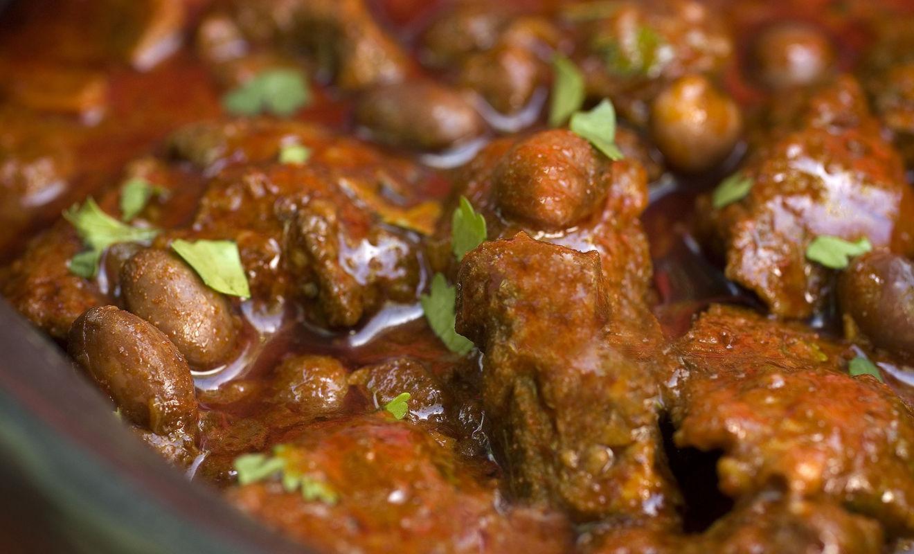 Recipe - Anasazi Cowboy Chili with Buffalo & Nopales –  Bison – Dartagnan.com