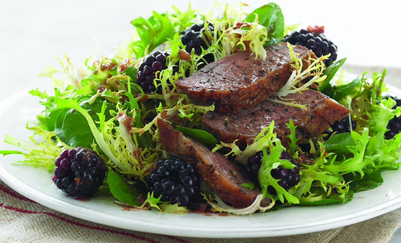 Jennifer McLagan's Duck Breast with Blackberries Recipe   D'Artagnan