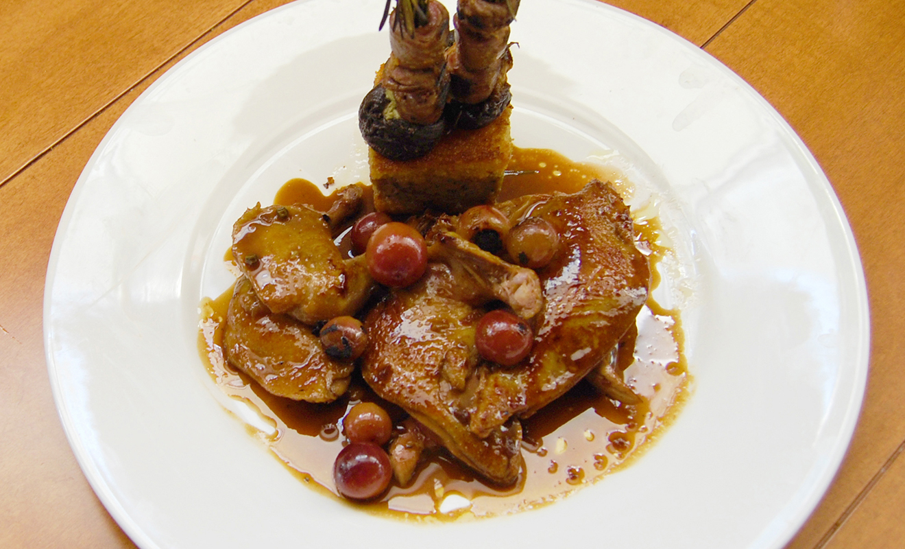 David Burke's Foie Gras Corncakes Recipe | D'Artagnan