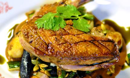 Akhtar Nawab's Mole de Pato with Pastellitos Recipe | D'Artagnan