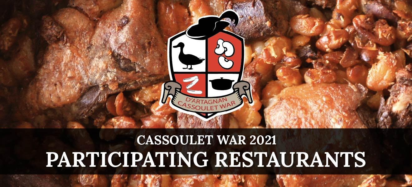Celebrate Cassoulet – Participating Restaurants