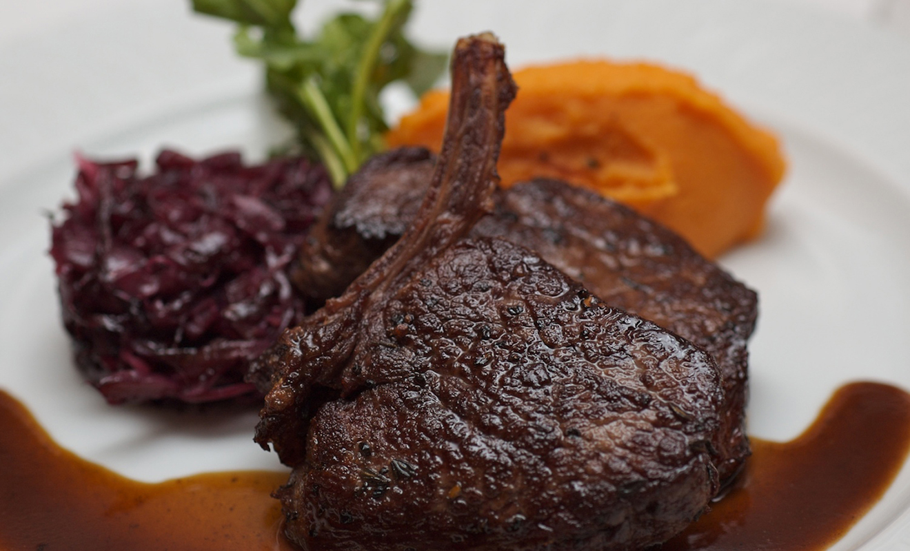 Bill Peet's Pan-Roasted Loin of Venison Recipe | D'Artagnan
