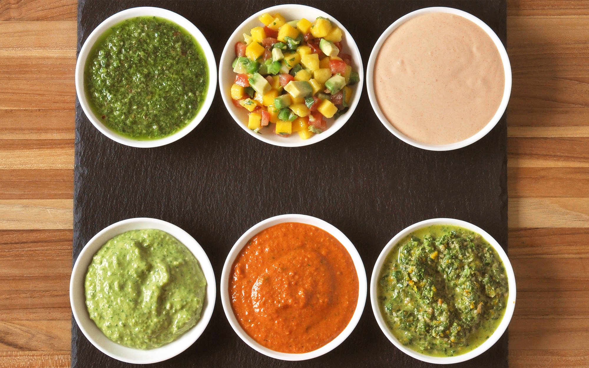 Six Easy No-Cook Sauces for Grilled and Roasted Meat