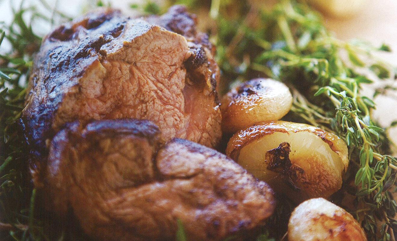 Alexander Bernard's Morel Mushroom Crusted Veal Filet Tenderloin Recipe | D'Artagnan