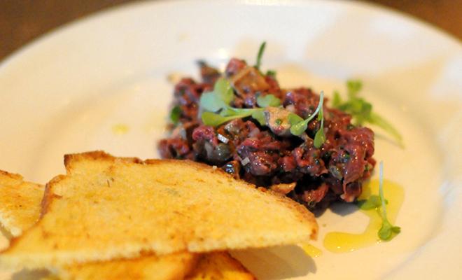 Chris Cosentino's Venison Tartare with Foie Gras Recipe | D'Artagnan