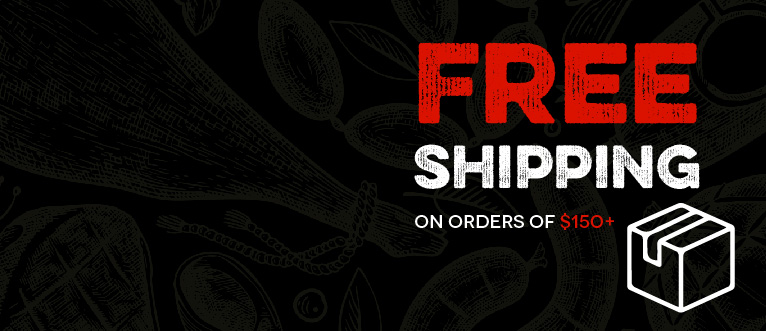 Free Shipping Orders $150+