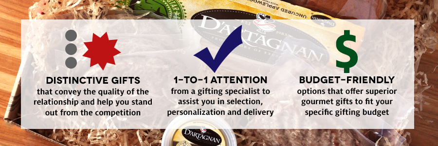 Distinctive, Budget-Friendly Gourmet Business Gifts
