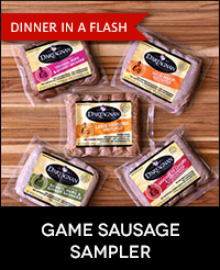 Buy Fresh Game Sausage