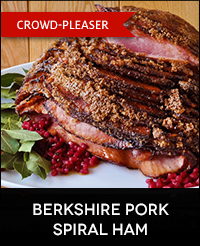 Buy Berkshire Pork Ham for the Holidays
