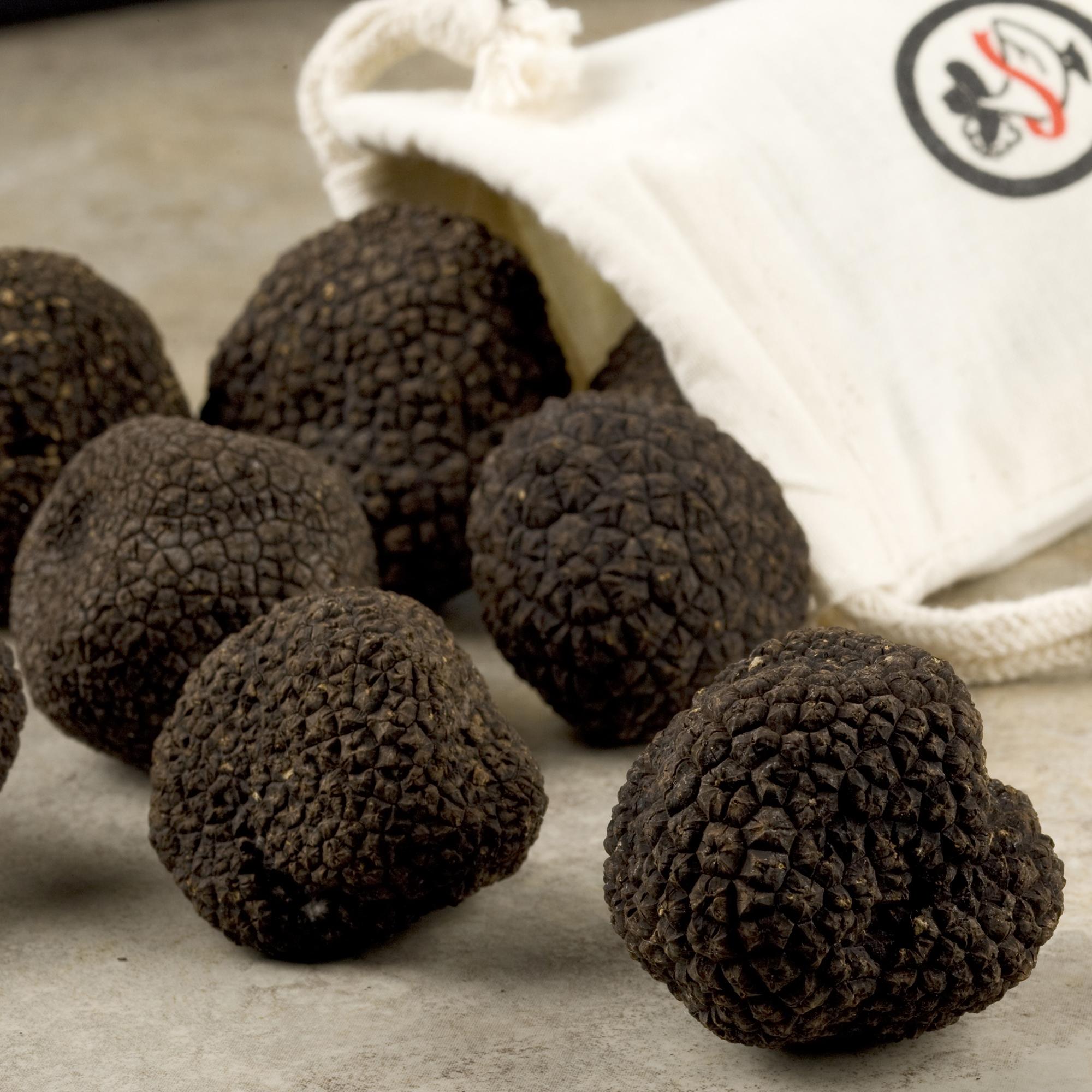 Black Winter Truffles  Fresh