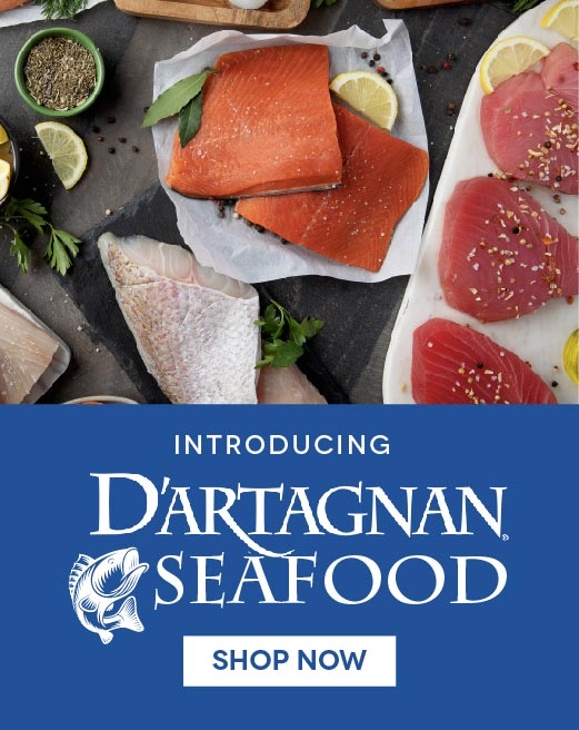 Introducing D'Artagnan Seafood Line